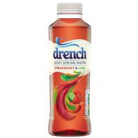 Juicy Drench Strawberry and Lime - 12 x 500ml